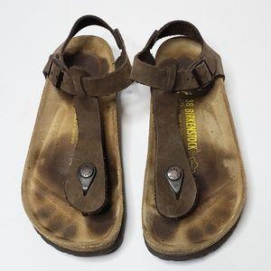 Birkenstock Kairo Brown Sandals Size 7